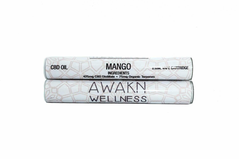 Mango (Full Spectrum) CBD Replacement Cartridge by Awakn Wellness