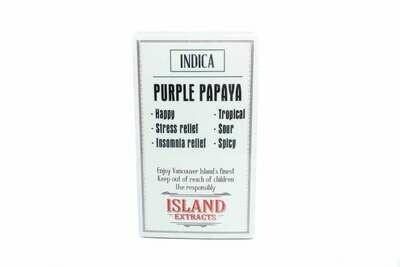 Purple Papaya Premium Preroll (5/Pack) By Island Extracts