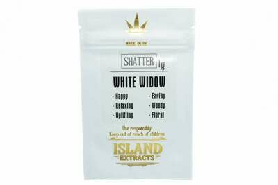 White Widow Shatter (1g) by Island Extracts