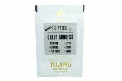 Green Goddess Shatter (1g) by Island Extracts