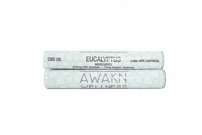 Eucalyptus (Full Spectrum) CBD Replacement Cartridge by Awakn Wellness