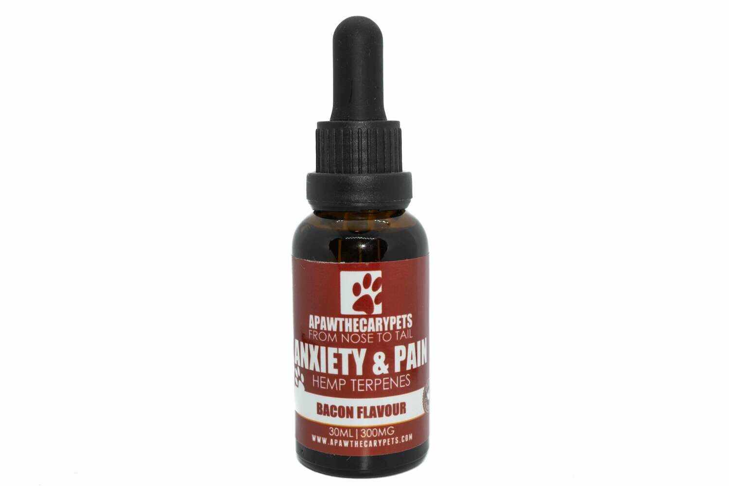 Apawthecary Pet Oral Drops (Bacon) (300mg) (30ml)
