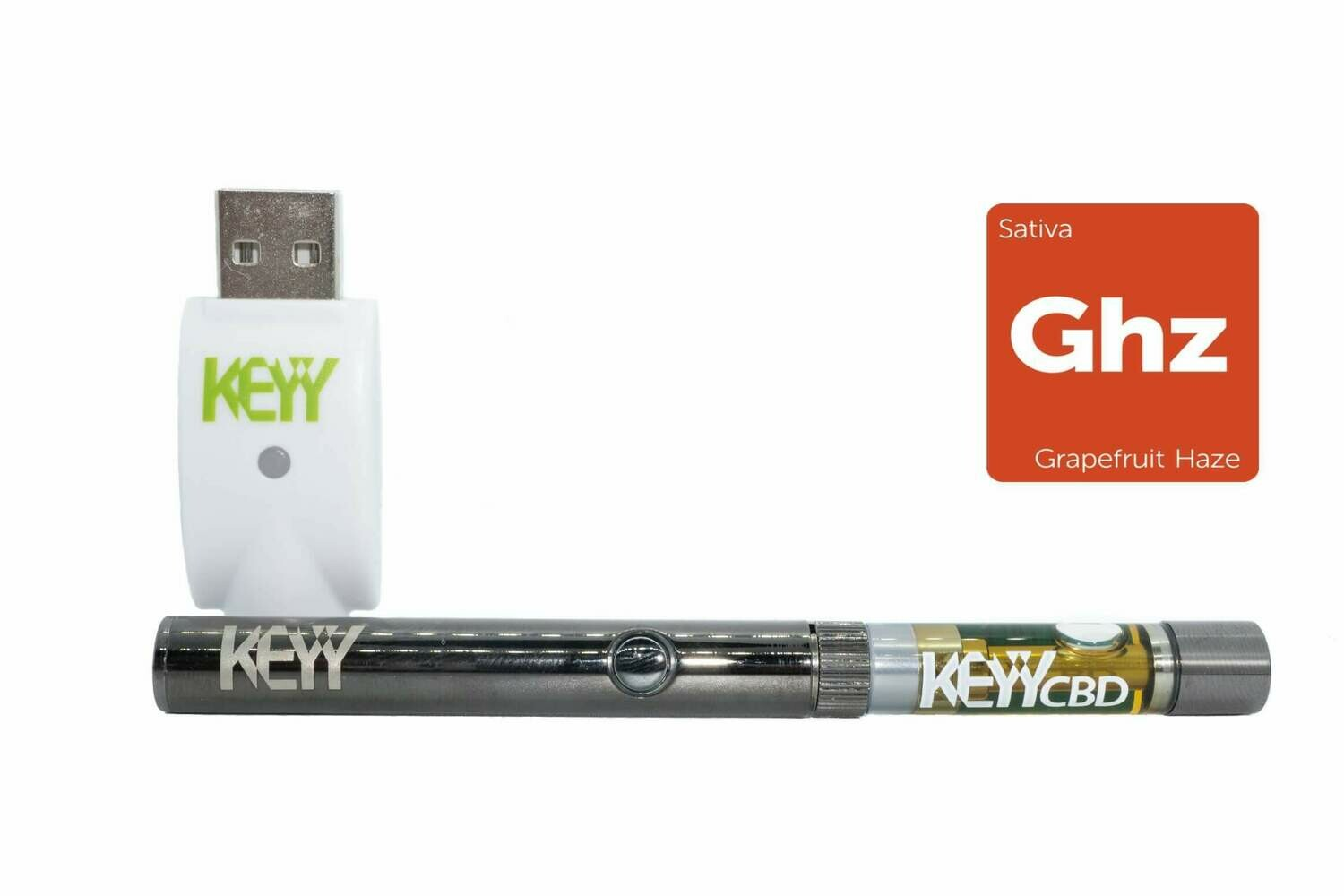 Grapefruit Haze (Sativa) Vape Pen Kit by Keyy