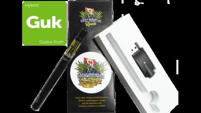 Guava Kush (Hybrid) (Full Spectrum) Rosin Vape Kit by Rocky Mountain
