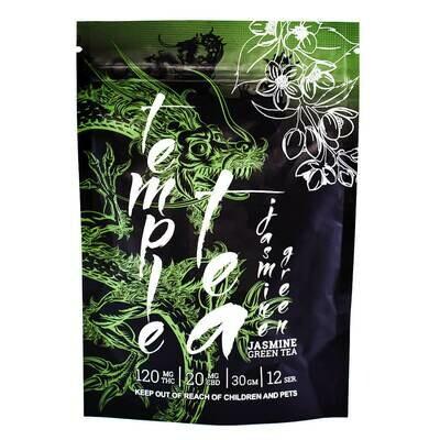 (120mg THC/ 20mg CBD) Jasmine Green Tea By Temple Tea