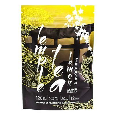 (120mg THC/ 20mg CBD) Lemon Sencha Tea By Temple Tea
