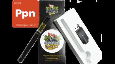 Pineapple Punch (Sativa) (Full Spectrum) Rosin (0.5ml/1ml) Vape Kit by Rocky Mountain