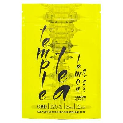 (120mg CBD) Lemon Grass Tea By Temple Tea