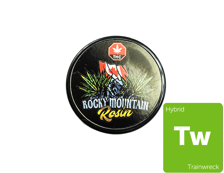 Trainwreck Rosin By Rocky Mountain