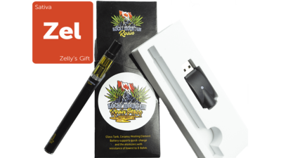 Zelly's Gift (Sativa) (Full Spectrum) Rosin Vape Kit by Rocky Mountain