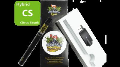 Citrus Skunk (Sativa) (Full Spectrum) Rosin Vape Kit by Rocky Mountain