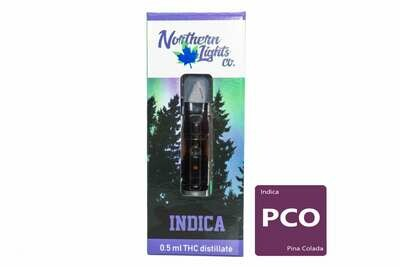 Pina Colada (Indica) Vape Top By Northern Lights