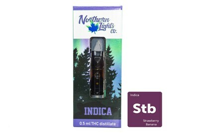 Strawberry Banana (Indica) Vape Top By Northern Lights