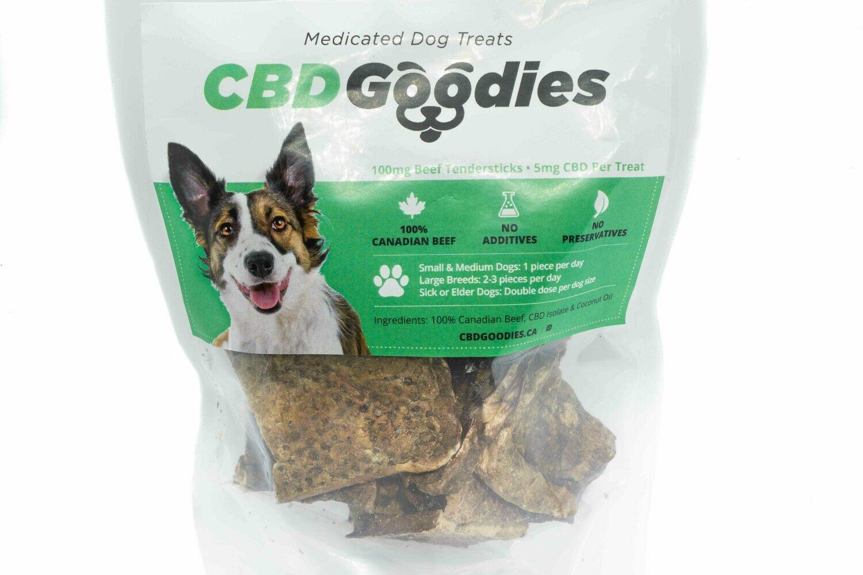 (200mg CBD / 100mg CBD) Dog Treats By CBD Goodies
