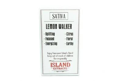 Lemon walker (Sativa) Premium Preroll (5/Pack) By Island Extracts