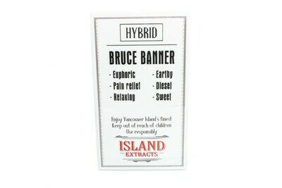 Bruce Banner (Hybrid) Premium Preroll (5/Pack) By Island Extracts