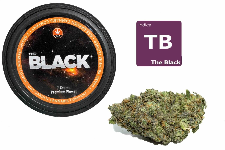 The Black (7g Premium Flower Tin Can) By Gas Garden