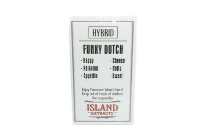 Funky Dutch (Indica) Premium Preroll (5/Pack) By Island Extracts