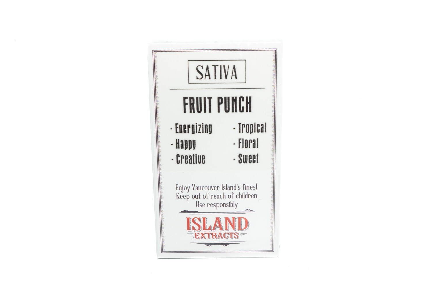 Fruit Punch (Sativa) Premium Preroll (5/Pack) By Island Extracts