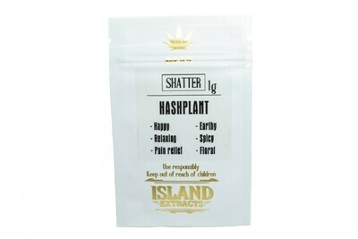 HashPlant Shatter (1g) by Island Extracts