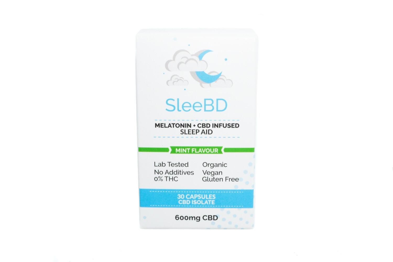 (600mg CBD) Sleep Aid Vegan Capsules By Sleebd