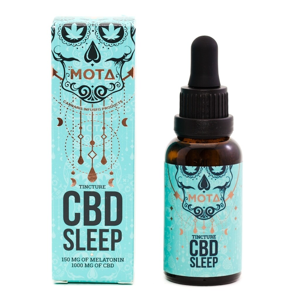 (1000mg CBD) Sleep Tincture By Mota