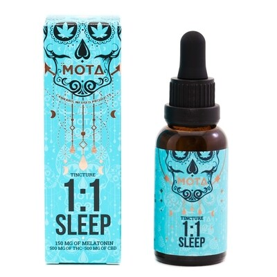 (500mg THC&500mg CBD) Sleep Tincture By Mota