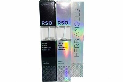 (500/1000mg THC) Full Spectrum RSO Syringes By Herb Angels
