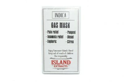 Gas Mask (Indica) Premium Preroll (5/Pack) By Island Extracts