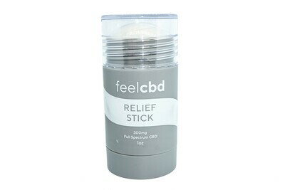(300mg CBD) Full Spectrum Relief Stick By Feel CBD