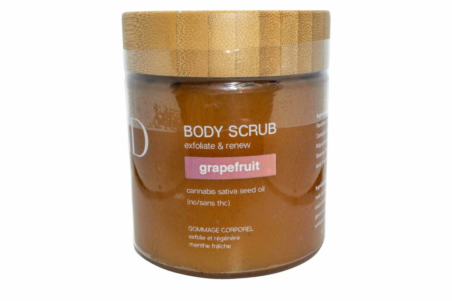 Scented Body Scrub by SToND Naturals