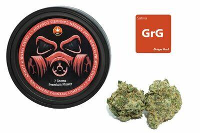 Grape God (7g Premium Flower Tin Can) By Gas Garden