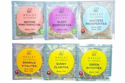 Single Satchet Tea By Wesley Tea