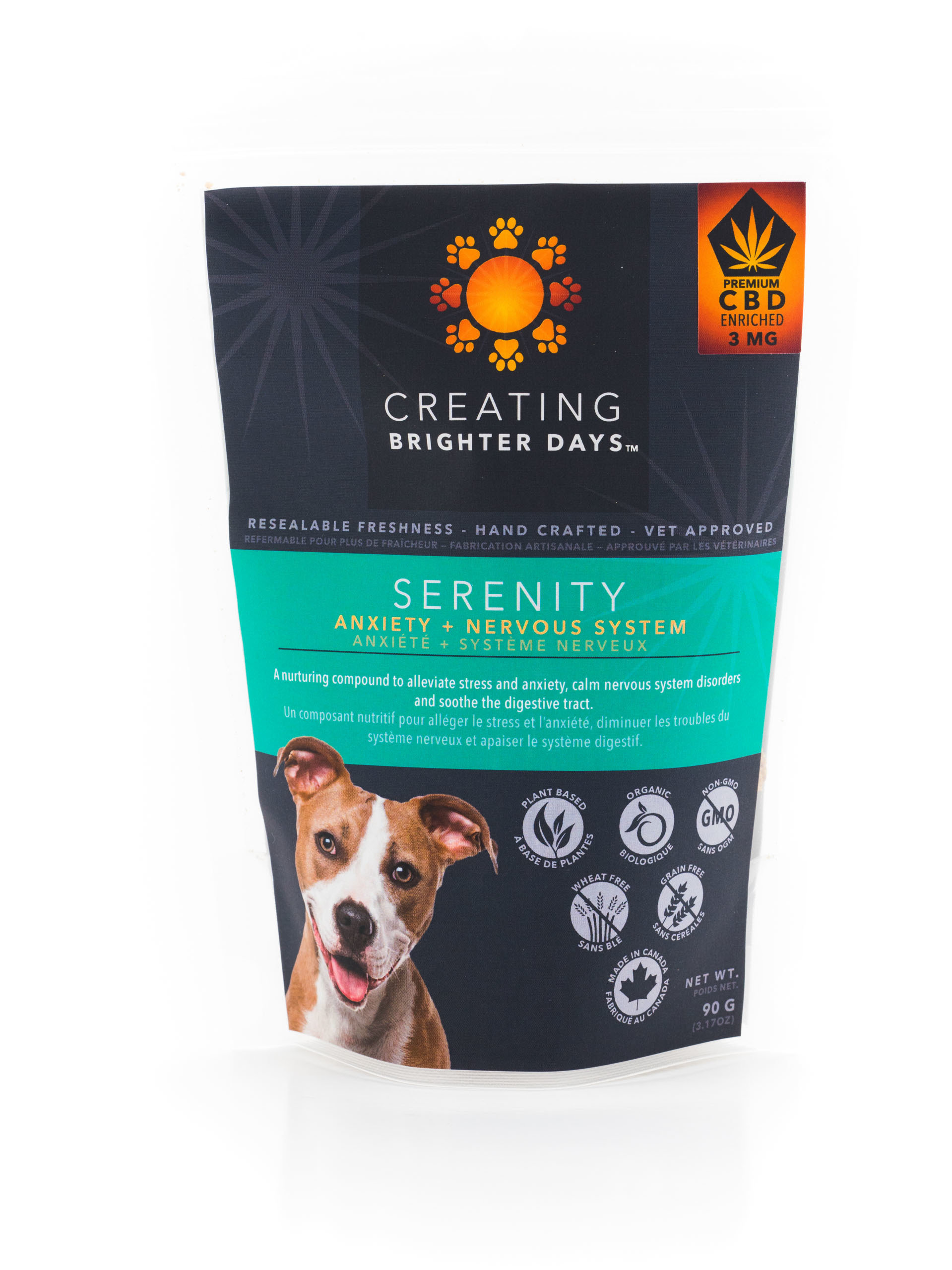 Serenity Enriched Treats (3mg CBD) by Creating Brighter Days 00093