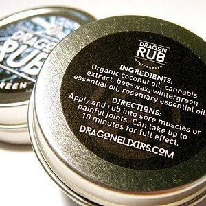 Dragon Rub Wintergreen (Organic) – 1 oz / 2oz – THC/CBD