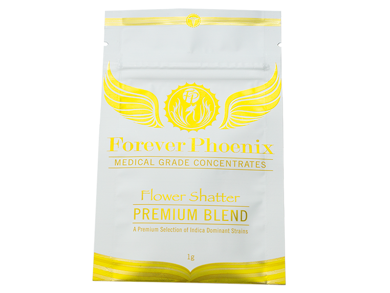 AAAA+ Flower Shatter Premium Blend by Forever Phoenix 01128