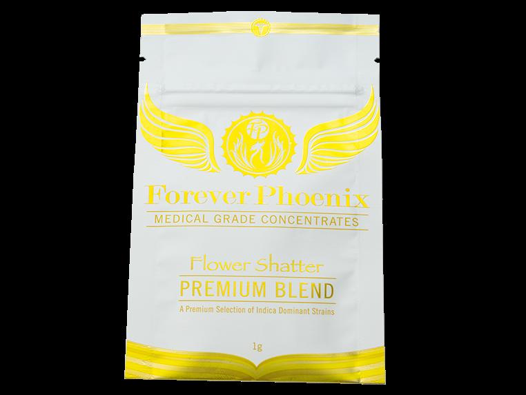AAAA+ Flower Shatter Premium Blend by Forever Phoenix