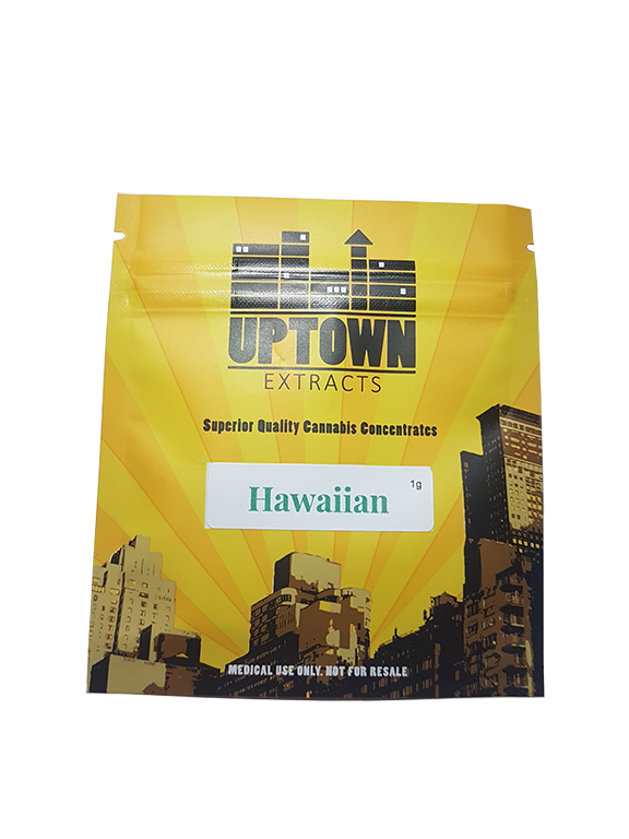 Hawaiian Shatter (1g) by Uptown Extracts 00105