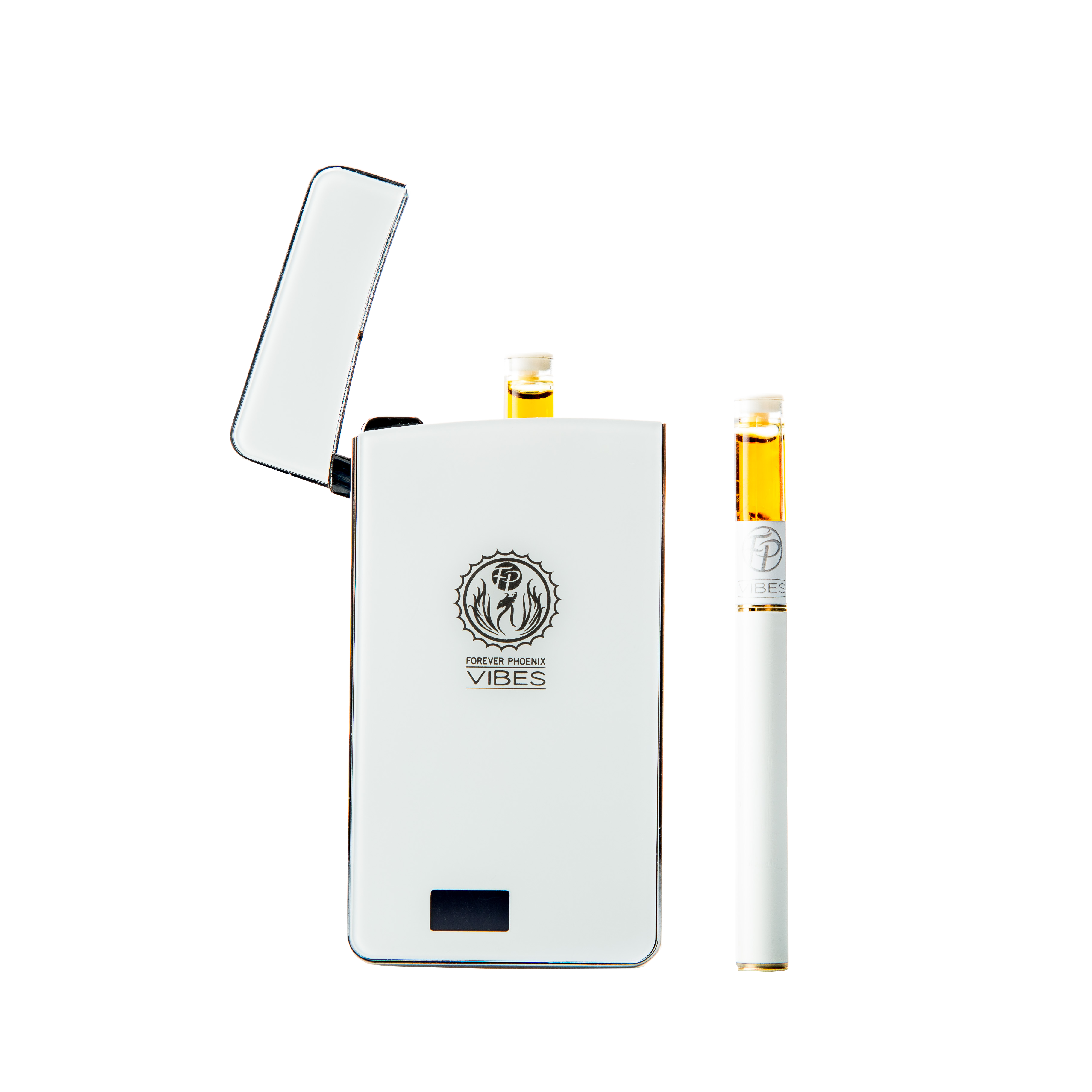 Vibes Rechargeable Vaporizer (White) by Forever Phoenix 00123