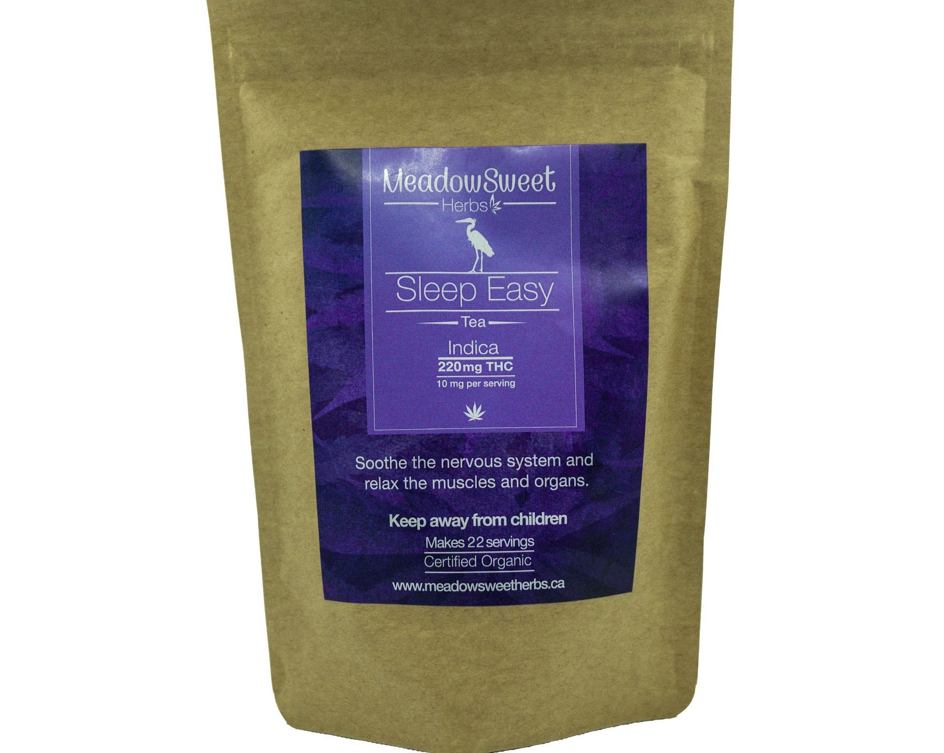 Sleep Easy Tea by MeadowSweet Herbs (220mg THC) 01153