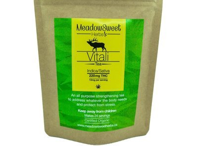 Vitali Tea by MeadowSweet Herbs (220mg THC)