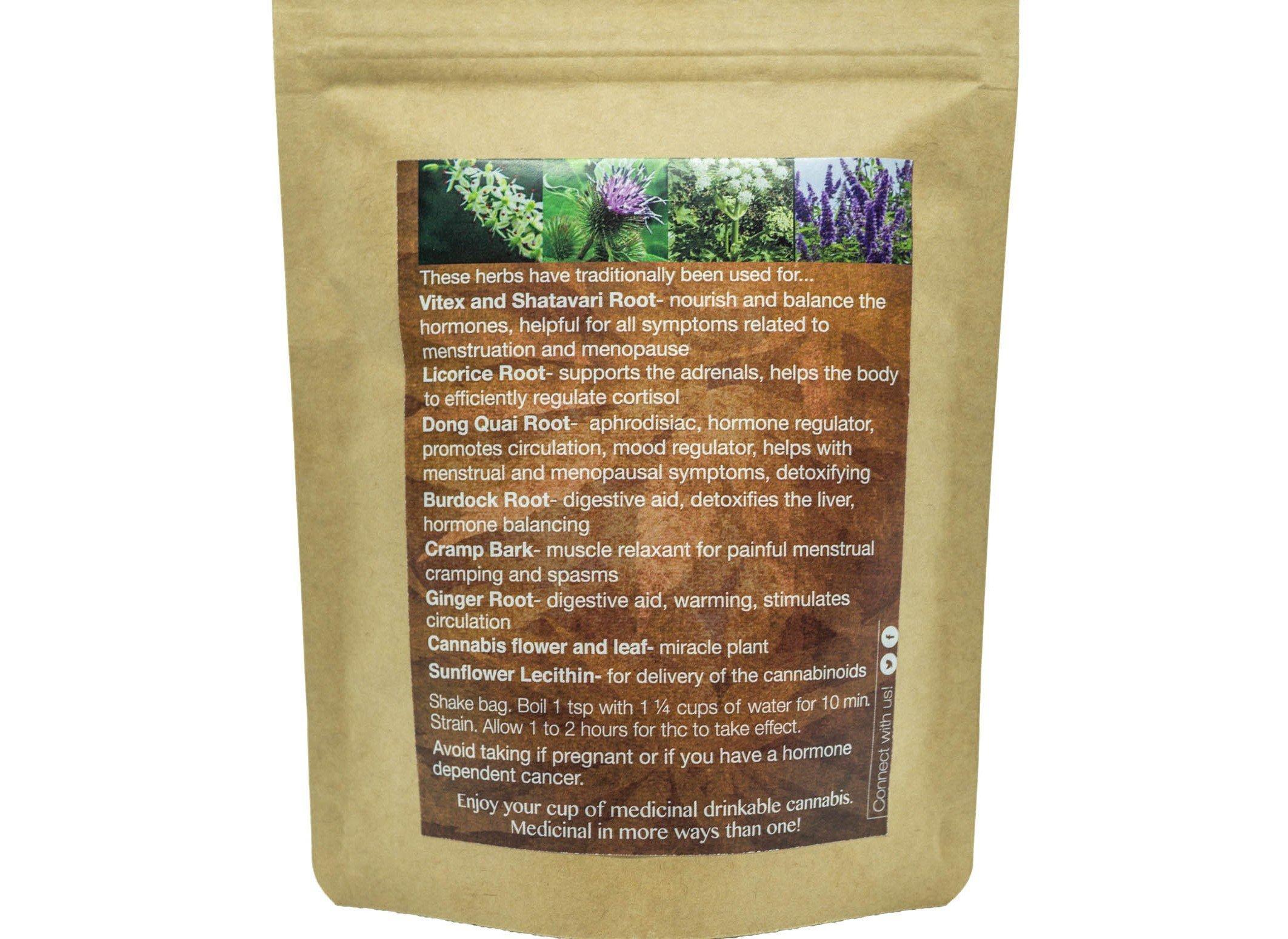 Women's Tea by MeadowSweet Herbs (220mg THC)