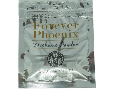 CBD 20mg (5 caps) Trichome Powder Capsules by Forever Phoenix