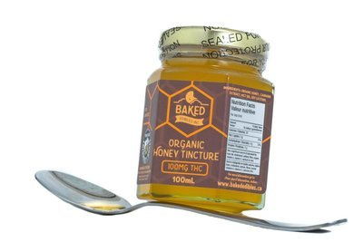 Organic Honey (100mg THC) by Baked Edibles