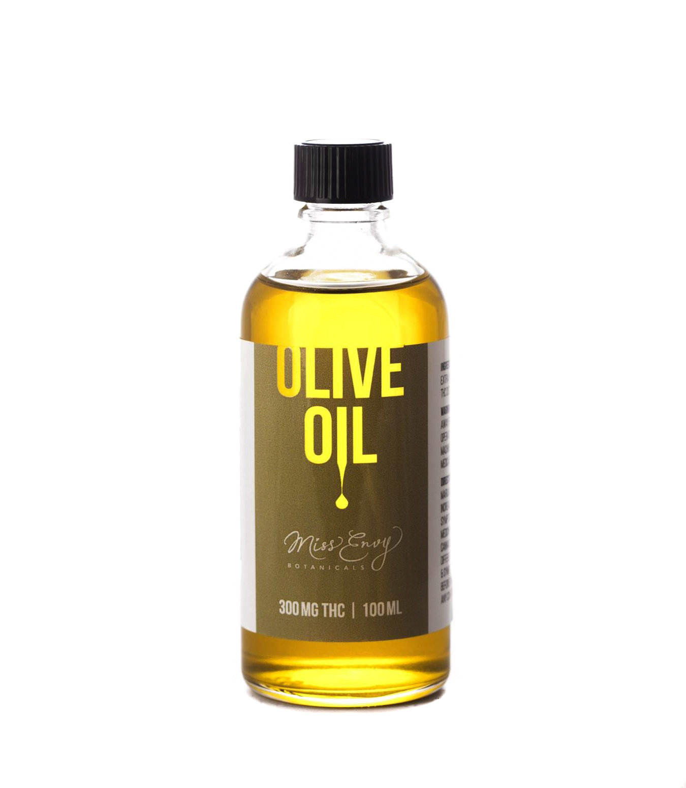 THC Olive Oil by Miss Envy Botanicals (300mg THC) 01173