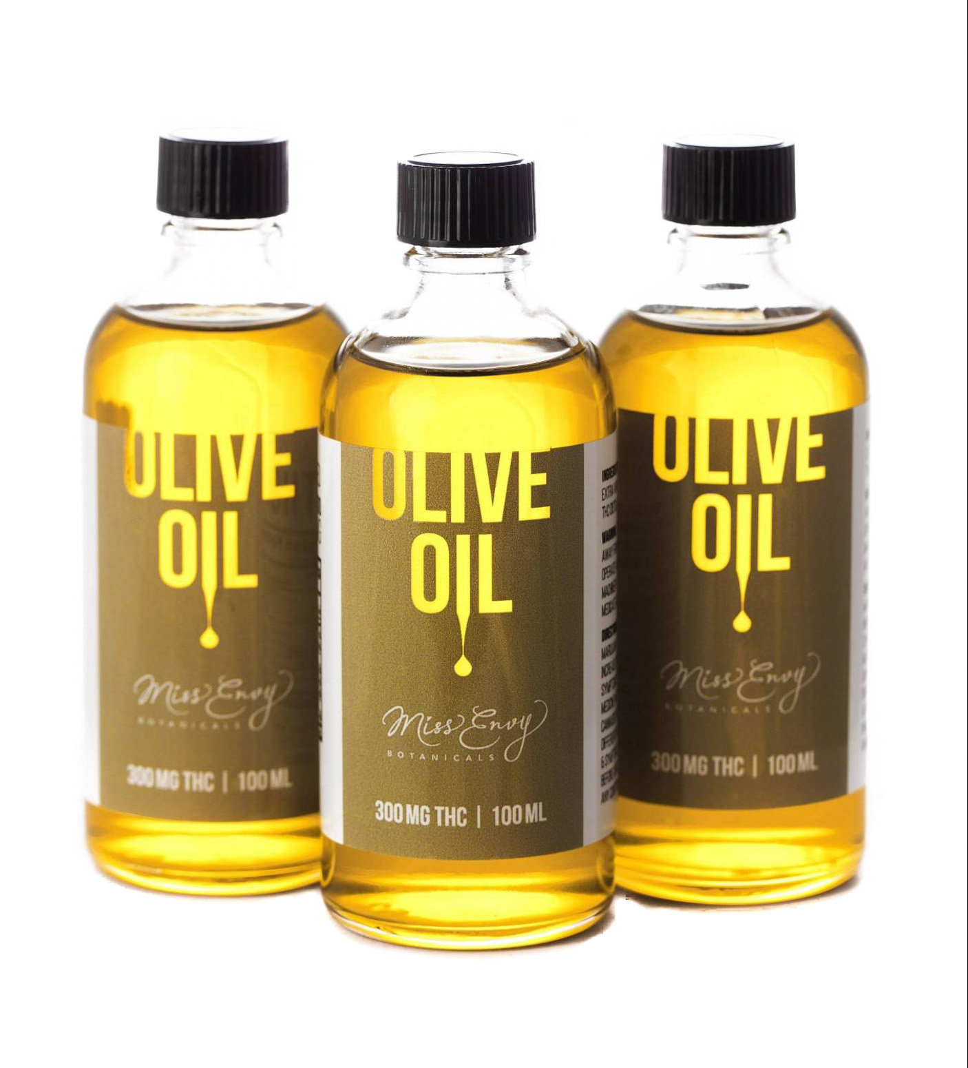 THC Olive Oil by Miss Envy Botanicals (300mg THC)