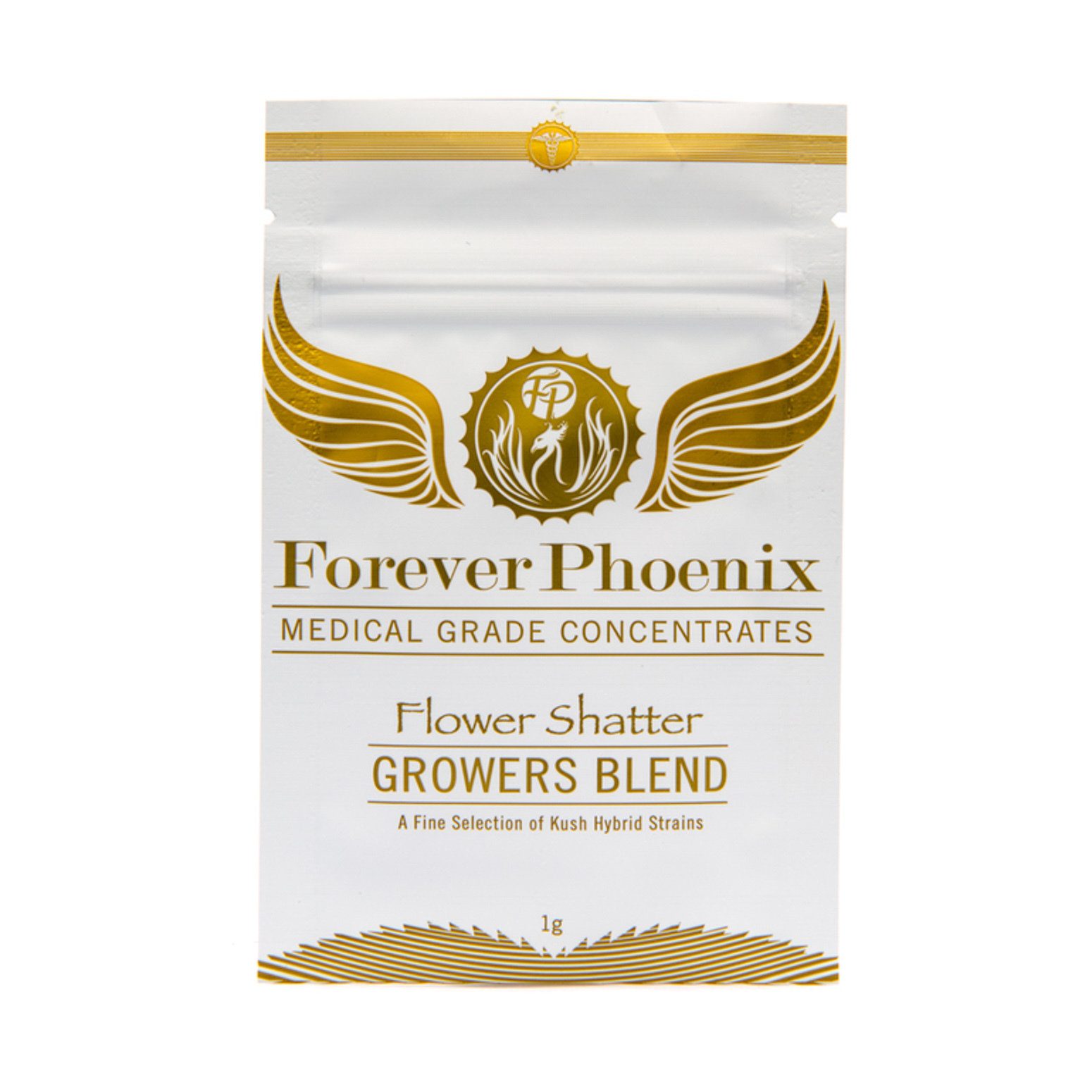 AAAA Flower Shatter Grower's Blend by Forever Phoenix 01129