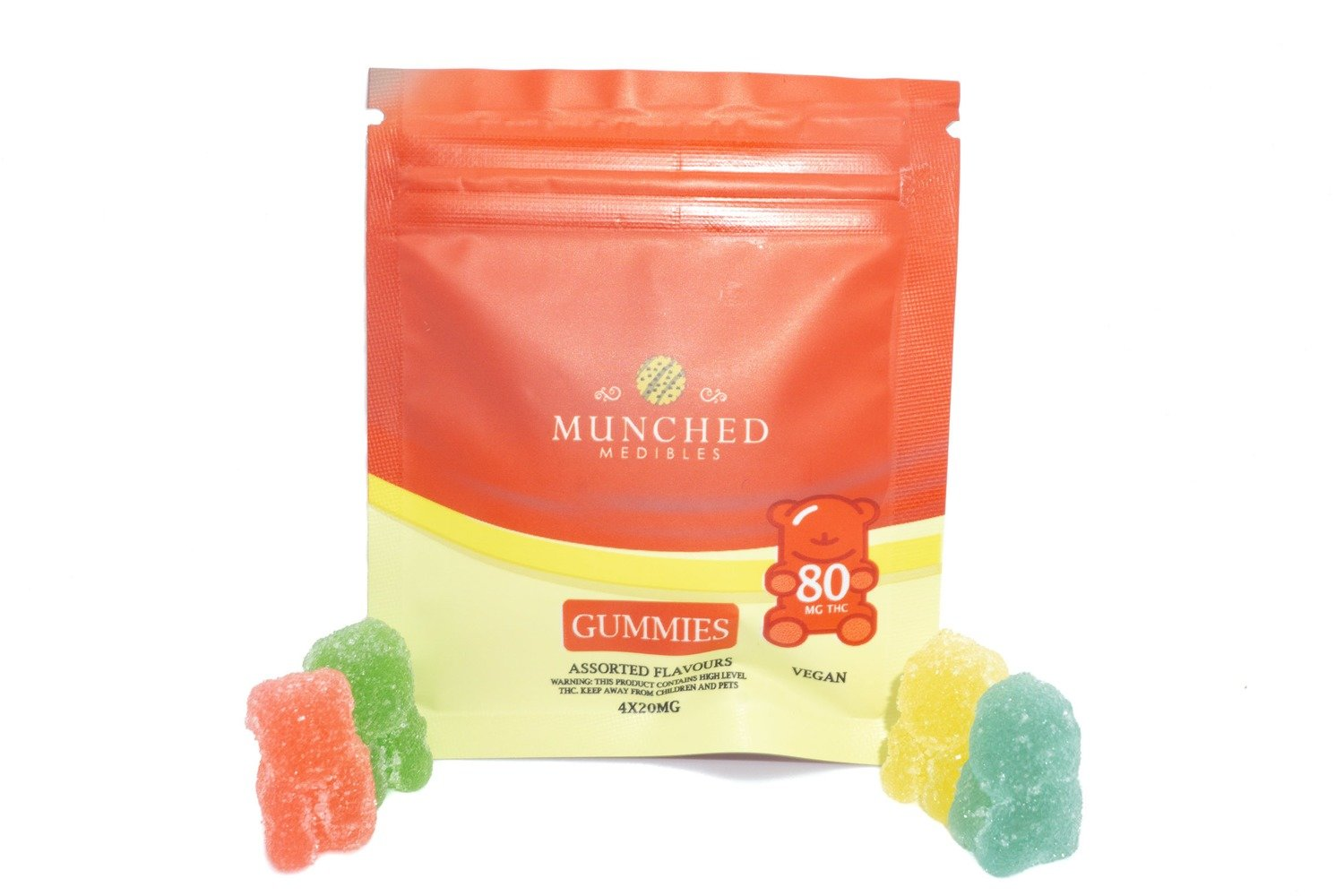 Munched Medibles (80mg) (Vegan)