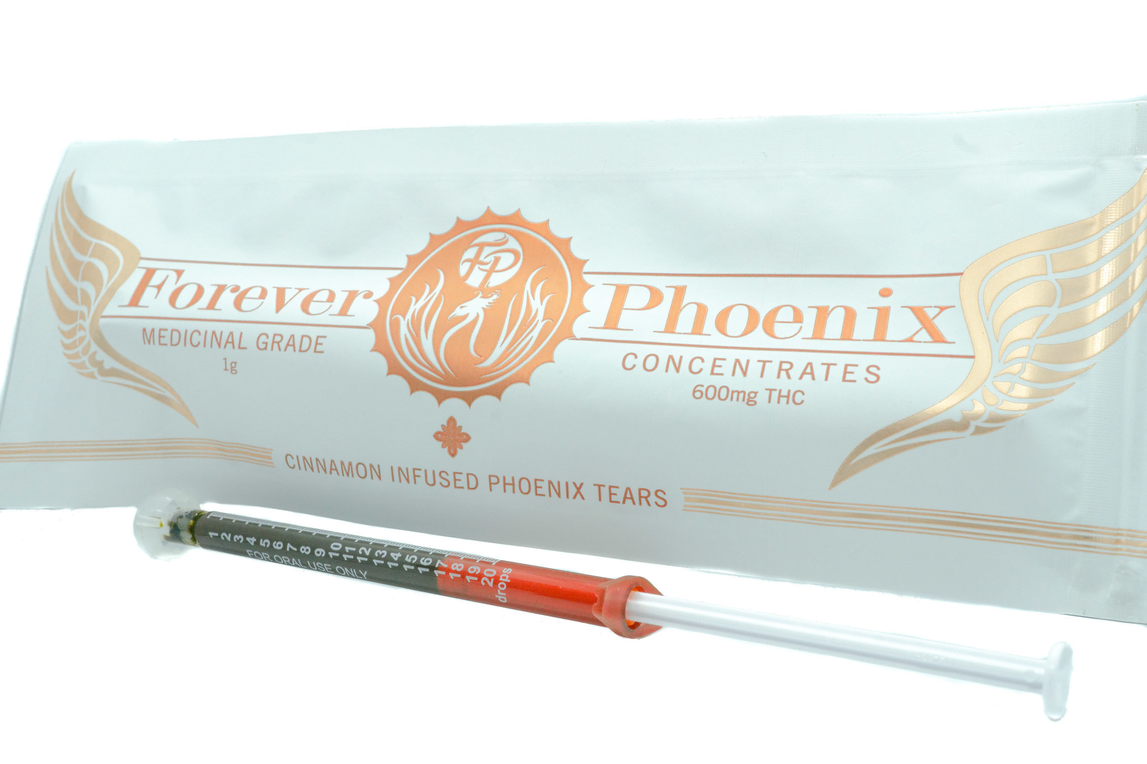 600mg Cinnamon Phoenix Tears AAAA+ by Forever Phoenix (Full Spectrum) 01197