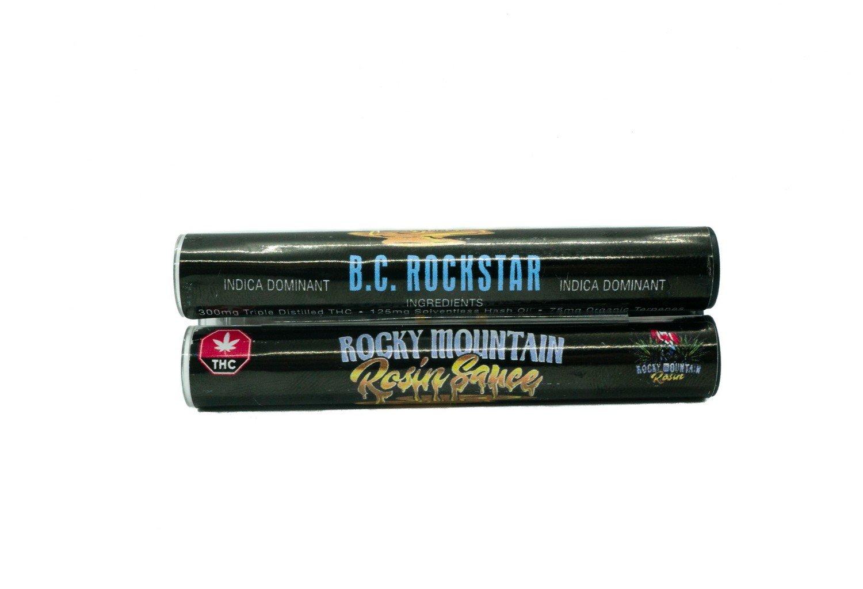B.C Rockstar (Indica) (Full Spectrum) Rosin Sauce Replacement Cartridge by Rocky Mountain